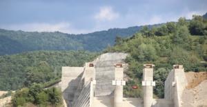 Kozcağız Barajında Çalışmalar Hız Kazandı