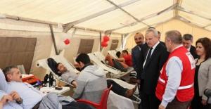 Bartın'da Damar Yolundan Hayat Yoluna Kan Bağışı Kampanyası
