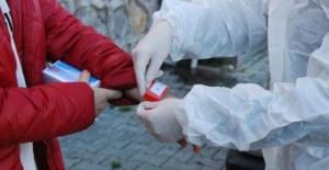 Bartın'da koronavirüs hastalarına barkodlu bileklik