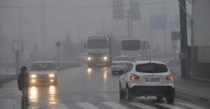 Bartın'da yoğun sis