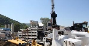 Bartın'da Kilit Parke Yapım ve Beton Santrali Tesisi