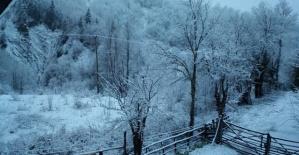 Bartın'da Nisan Ayında Kar