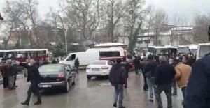 Bartın'da Şoförler birbirine girdi, tekme ve yumruklar havada uçuştu