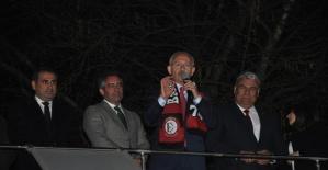 CHP Genel Başkanı Kemal Kılıçdaroğlu Bartın'da