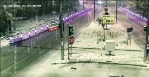 Kozcağız'da Kar Güzelliği