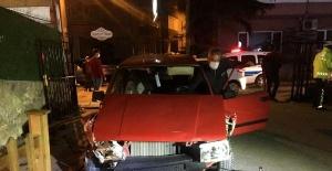 Bartın'da Alkollü sürücü kaldırımda yürüyen yayaya çarptı
