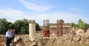 Bartın TOKİ Köprüsü İnşaatı Devam Ediyor
