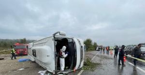 Bartın'da MHP'lileri Taşıyan Otobüs Devrildi: 2 Ölü, 19 Yaralı