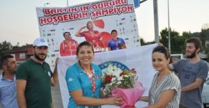 Bartın'da Avrupa Şampiyonuna Muhteşem Karşılama
