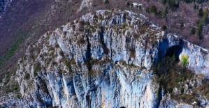 Küre Dağları Milli Parkı havadan böyle görüntülendi