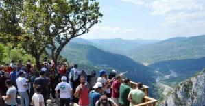 Küre Dağları Milli Parkı doğa tutkunlarını ağırlıyor