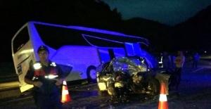 Bartın Otobüsü Kaza Yaptı: 1 Ölü, 8 Yaralı