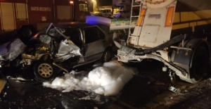 Bartın'da Amatör Futbolcu Kazada Öldü