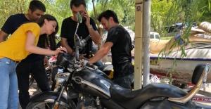 Bartın'da Motosiklet Denetimi