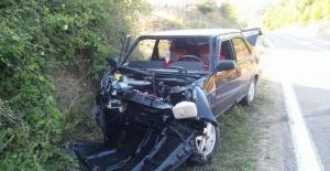 Bartın Ulus'ta Kaza: 1 Ölü, 1 yaralı