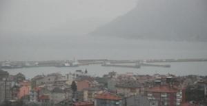 Amasra'da Gemiler Limana Sığındı