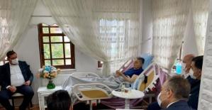 Başkan Akın Hasta Yatağından Toplantıya Başkanlık Etti