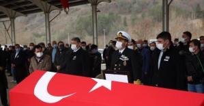 Tekne Kazasında Vefat Eden Teğmen Bartın'da Toprağa Verildi