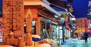 Masal Şehri Bartın'dan Gece Manzaraları