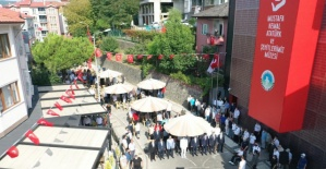 Bartın'da Atatürk ve Şehitler Müzesi Açıldı