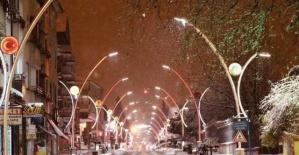 Bartın'da Karlı Gecede Başka Güzel
