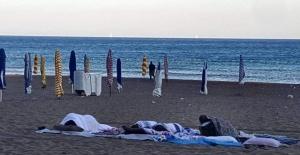 İnkumu Plajından Sabah Manzaraları
