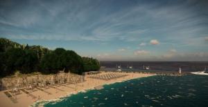 Tarlaağzı Plajı'na Modern Proje