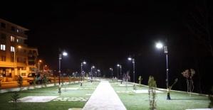 Bartın'da Elmalık Parkı Tamamlanıyor