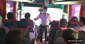 Bartın'da 2 Koronavirüs şüphelisi otobüste yakalandı