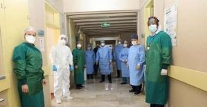 Bartın Valisi Pandemi Hastanesinde