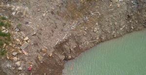 Bartın'da baraj inşaatında kaza