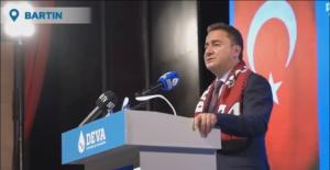 DEVA Partisi Genel Başkanı Ali Babacan Bartın'da