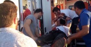 Bartın'da kamyoncular arasında bıçaklı kavga
