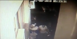 Bartın'da polisin yakın takibi sonucu ev faresi kıskıvrak yakalandı