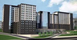 Bartın'ın en yüksek binasının inşaatı hızla devam ediyor