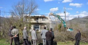 Bartın'da baraj sahasındaki 38 ev yıkılıyor