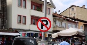 Bartın Davut Fırıncıoğlu Caddesine Park Yasak
