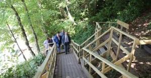 Kuşkayası Yol Anıtı Merdivenleri Onarıldı