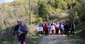 Ulukaya Şelalesi'ne 6 Kilometrelik Doğa Yürüyüşü