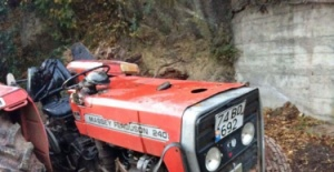 Bartın'da Traktör kazası: 1'i ağır 4 yaralı