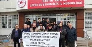 Bartın'dan Kanal İstanbul'a İtiraz