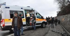 Bartın'da Hastane dönüşü kaza: 4 yaralı