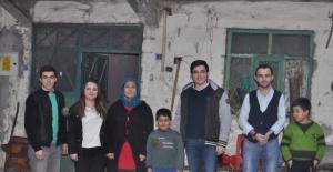 Bartın'da muhtaç aileye yardım