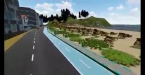 Çakraz Sahil Yolu Projesi Başlıyor