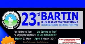 23. Uluslararası Bartın Tiyatro Festivali Programı
