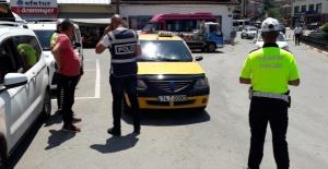 Bartın'da taksilere sıkı denetim