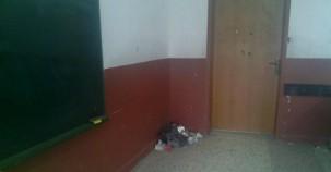 Bartın'da Sınıflarda Çöp Rezaleti