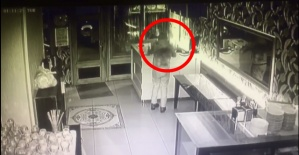 Bartın'da Hırsızlık Anı Güvenlik Kamerasında