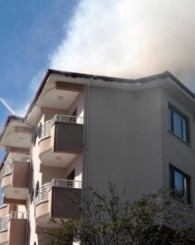 Amasra'da Yangın