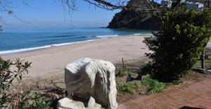 Bartın Çakraz Sahilinden tarihi eser çıktı
